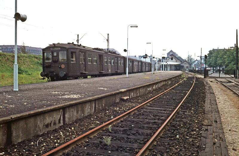 EVP - S-tog. Københavnske 1. generations S-tog.