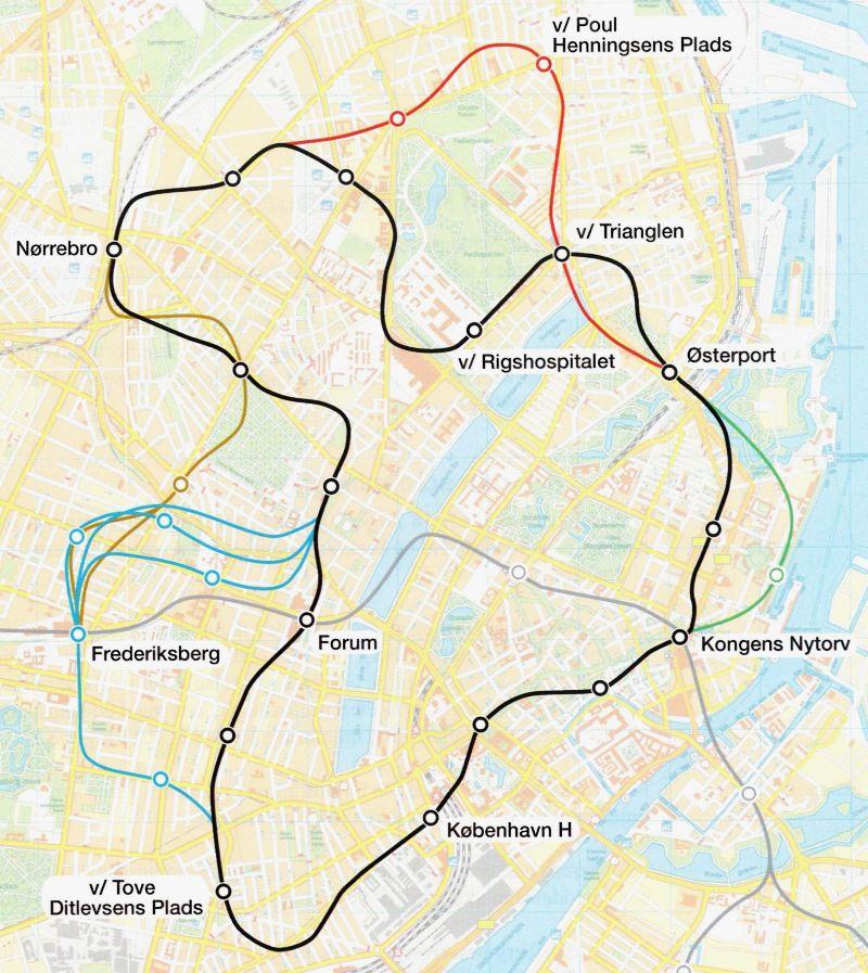 Evp M3 Cityringen Kobenhavns Metro