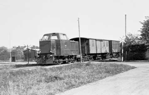 Med persontrafikkens indstilling i 1938 fjernedes det lille venteskur