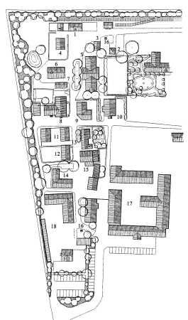 kort over frilandsmuseet