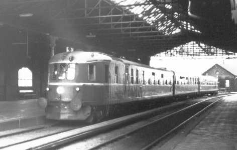 mit første togsæt
